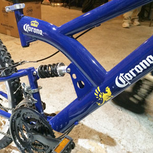 corona bike closeup